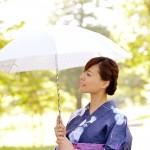 日傘の色は黒と白でUV効果の違いがあるのか? 外側が白で内側が黒?