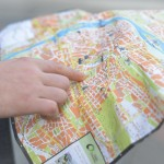 地図 方向 読む