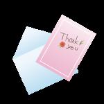 お礼 手紙
